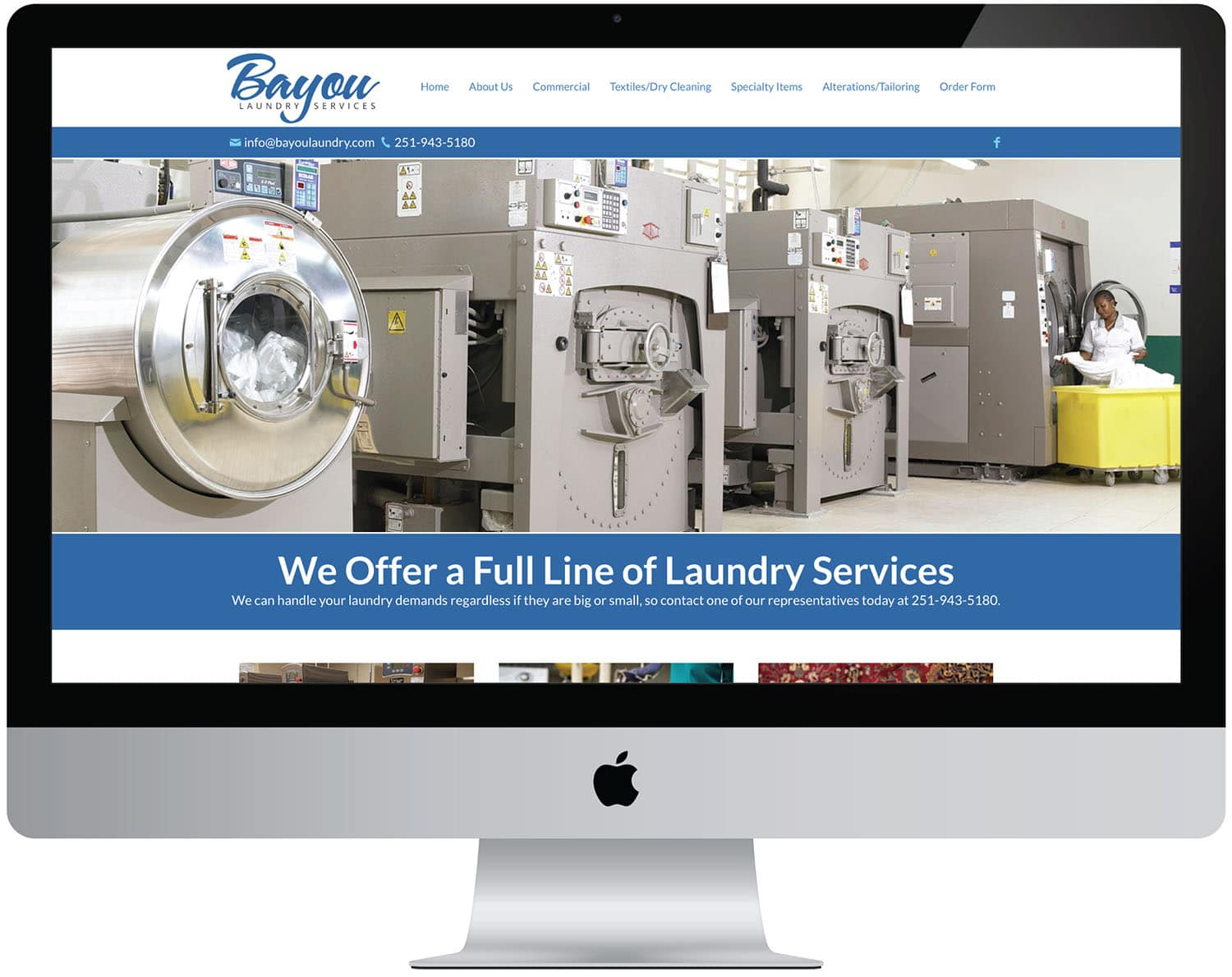 marketing seo content computer web strategy bayou laundry