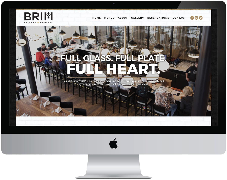marketing seo content computer web brim kitchen brewery